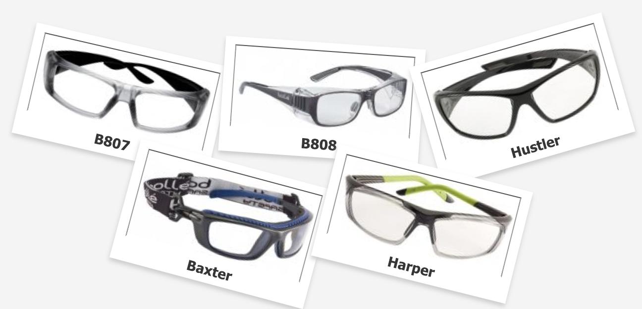 Lunettes de sécurité adaptées à la vue –